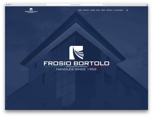 creazione siti web brescia - Sito Web Frosio Bortolo