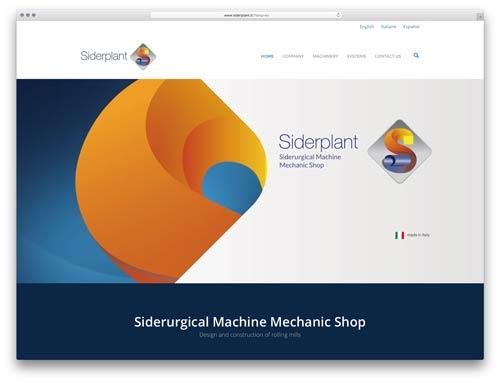 Web Agency brescia - sito web siderplant