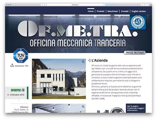 Creazione Siti Internet Brescia - Sito Web Ofemtra
