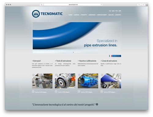 Sviluppo Siti Web Brescia - Sito Web Tecnomatic