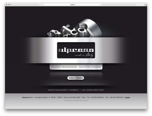 costruzione siti web brescia - sito web alpress