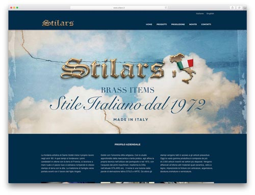 Progettazione Siti Internet Brescia - Sito Web Stilars