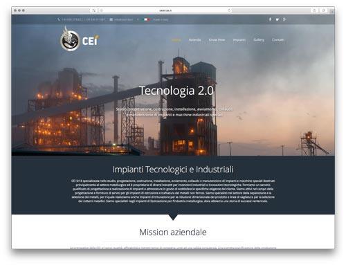 costruzione siti internet brescia - sito web cei