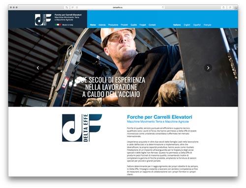Web Agency Brescia - Sito Web Delta Effe