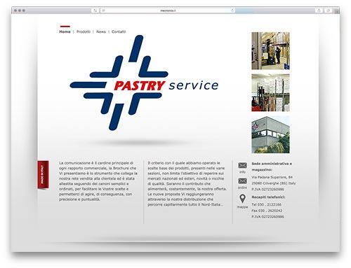Siti Web Brescia - Sito Web Pastry Service