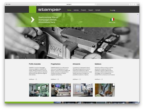 Web Agency Brescia - Sito Web Stamper