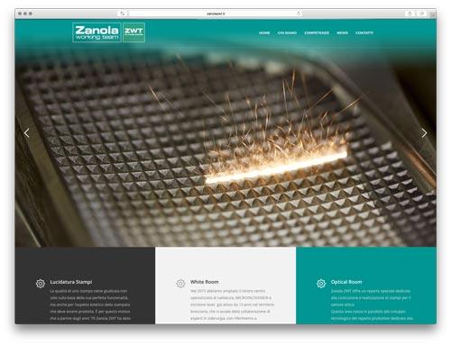 creazione siti web Brescia - sito web zanola zwt