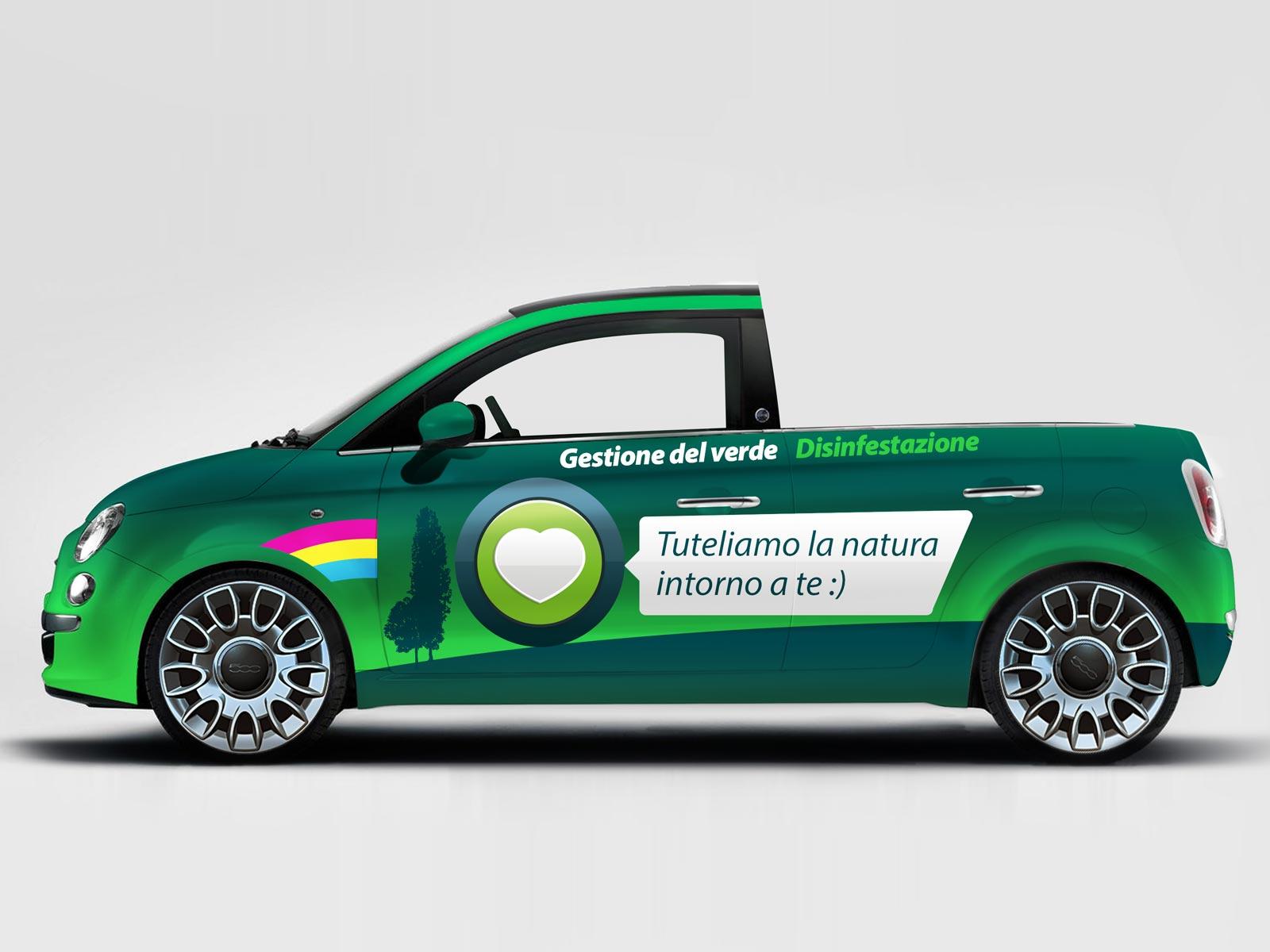 Grafiche personalizzate per Furgoni, Auto e Camion a Brescia