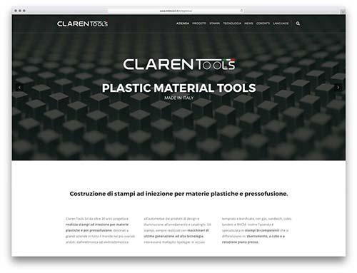 creazionesiti web Brescia - sito web Claren Tools