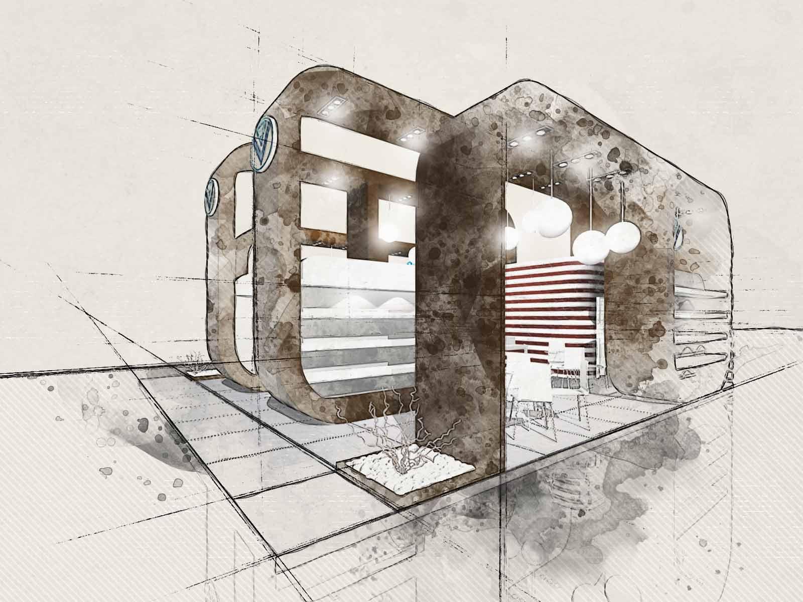 progettazione stand Brescia