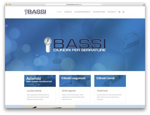 Siti Internet Brescia - Sito Web Bassi Cilindri