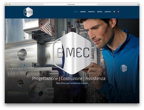 Creazione Siti Internet Brescia - Sito Web B-MEC