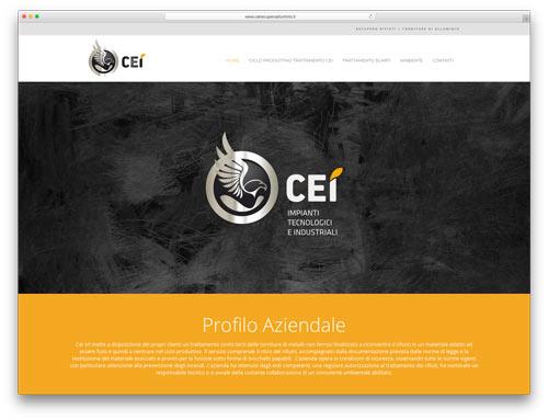 Progettazione Siti Web Brescia - Sito Web Cei Recupero Alluminio