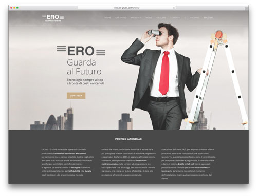 Siti Web Brescia - Sito Web ERO