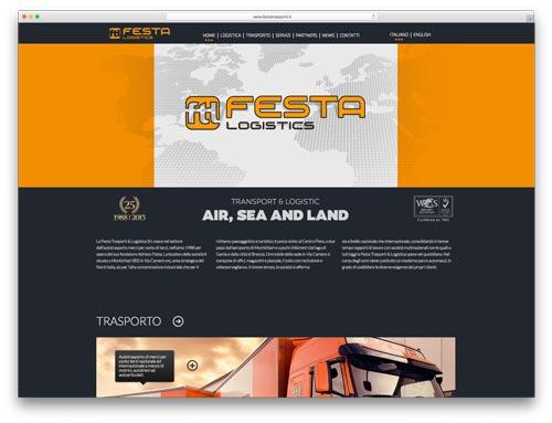 Creazione Siti Internet Brescia - Sito Web Festa Trasporti