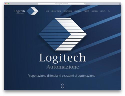 Web Agency Brescia - Sito Web Logitech Automazione