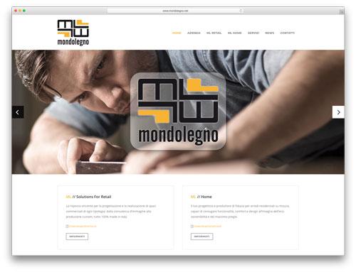 Siti Web Brescia - Sito Web Mondolegno