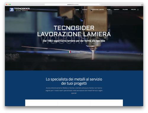 Siti Web Brescia - Sito Web Tecnosider