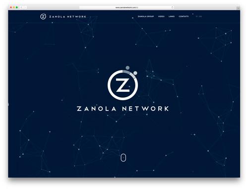 Realizzazione Siti Internet Brescia - Sito Web Zanola Network