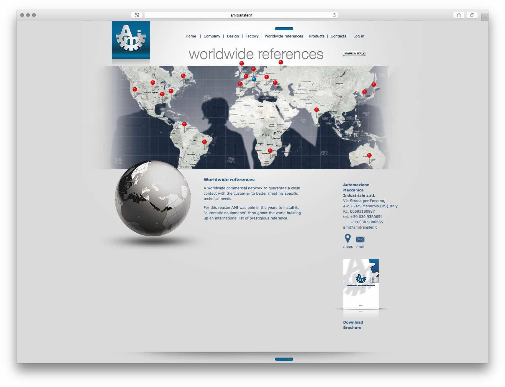 Creazione Siti Web Brescia - Sito Web A.M.I.