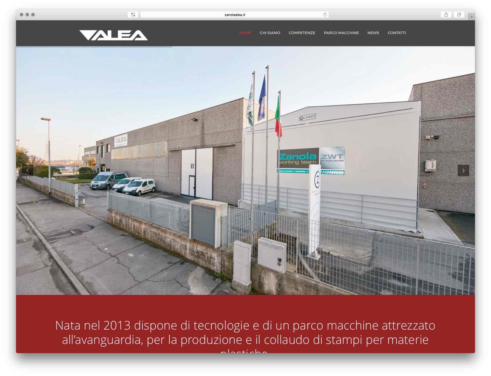 creazione siti web brescia - sito web alea