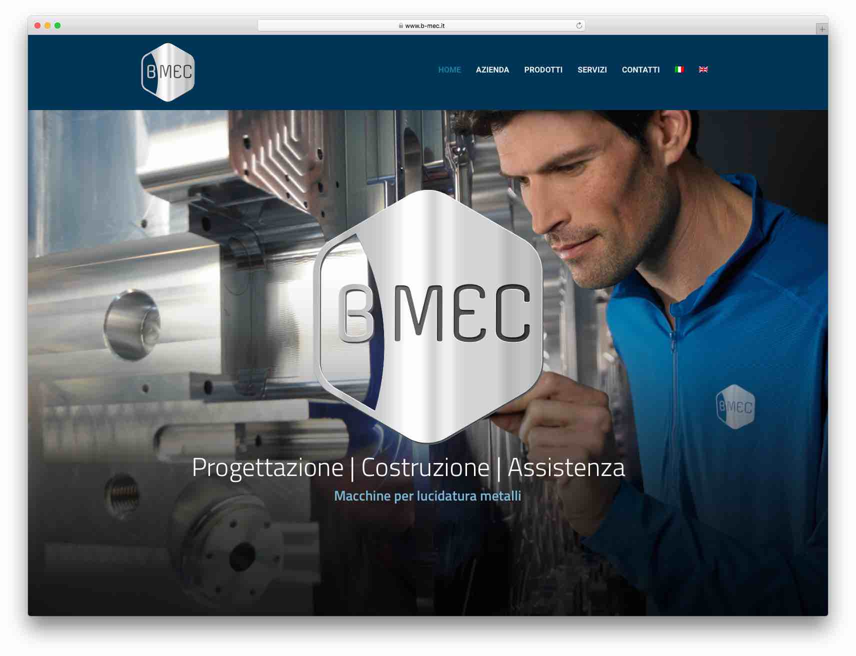 Creazione Siti Web Brescia - Sito Web B-MEC