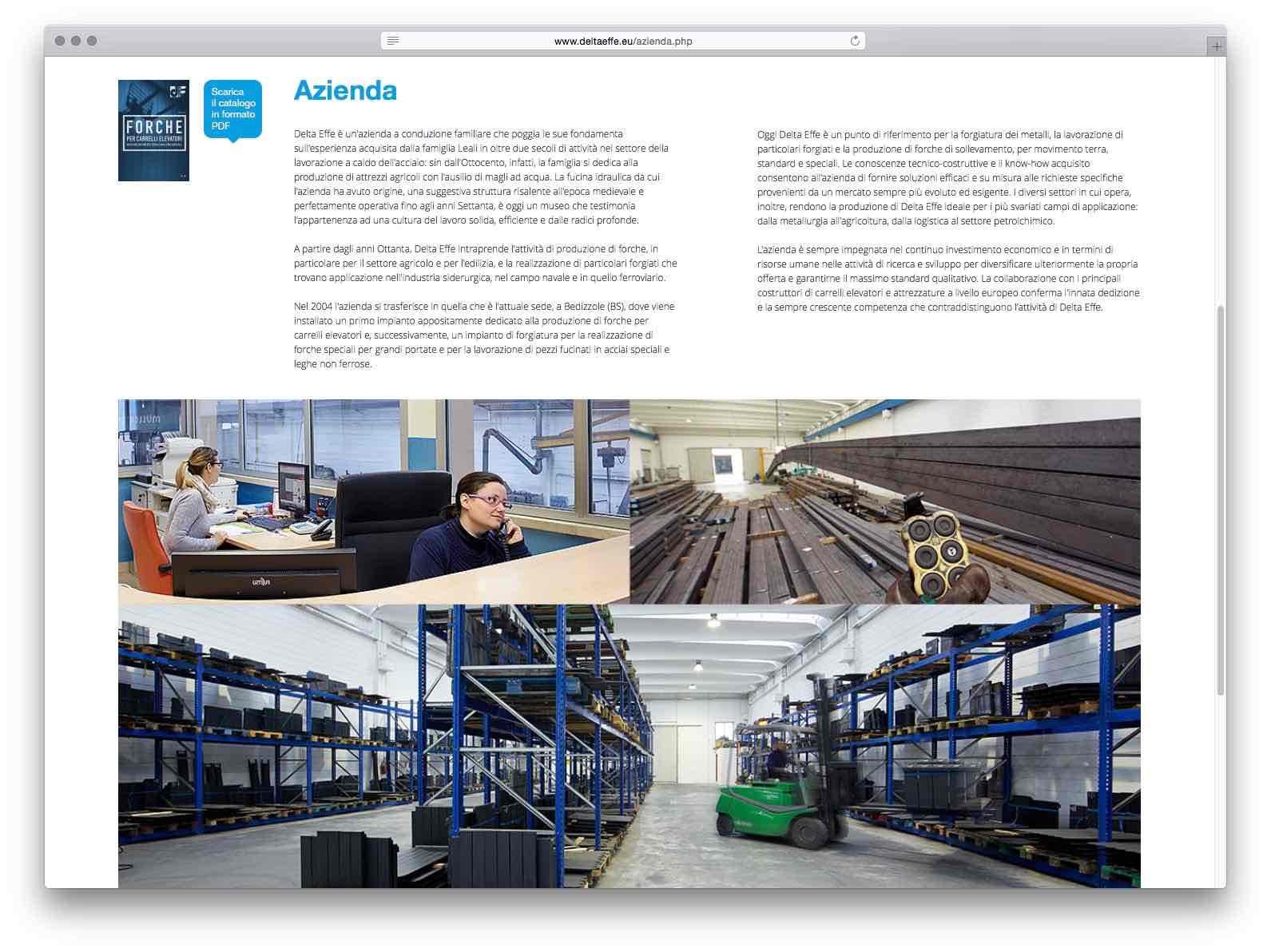 Creazione Siti Web Brescia - Sito Web Delta Effe