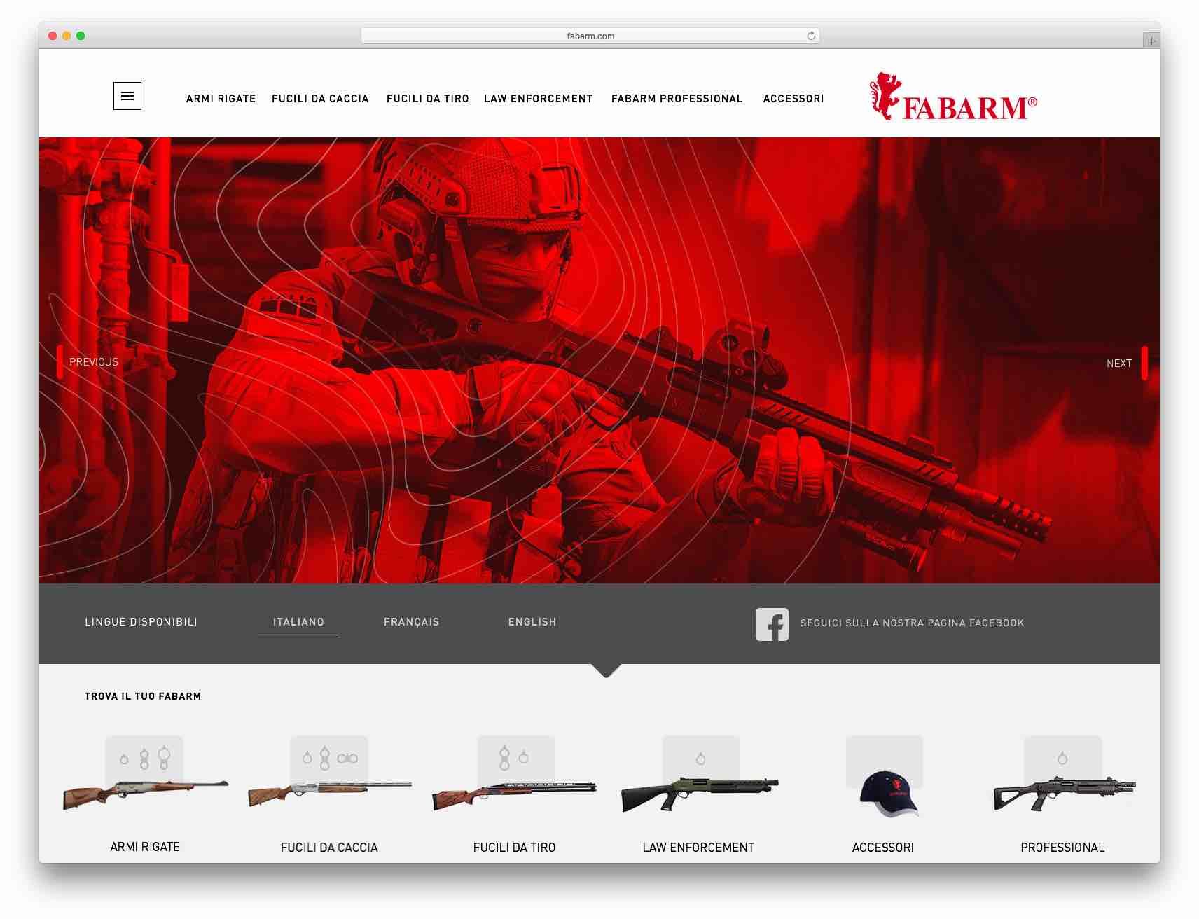 creazione siti web brescia - sito web fabarm