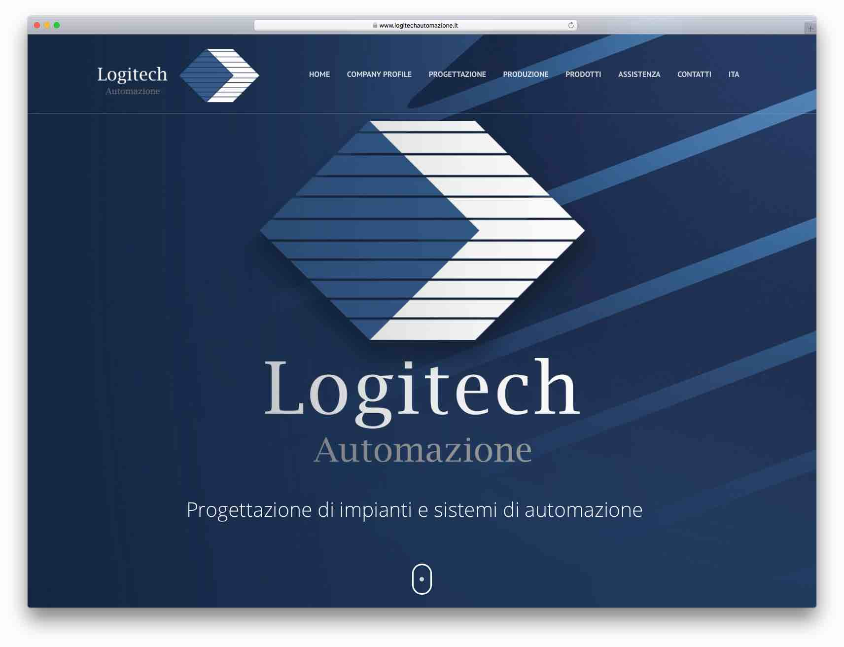 Creazione Siti Web Brescia - Sito Web Logitech Automazione