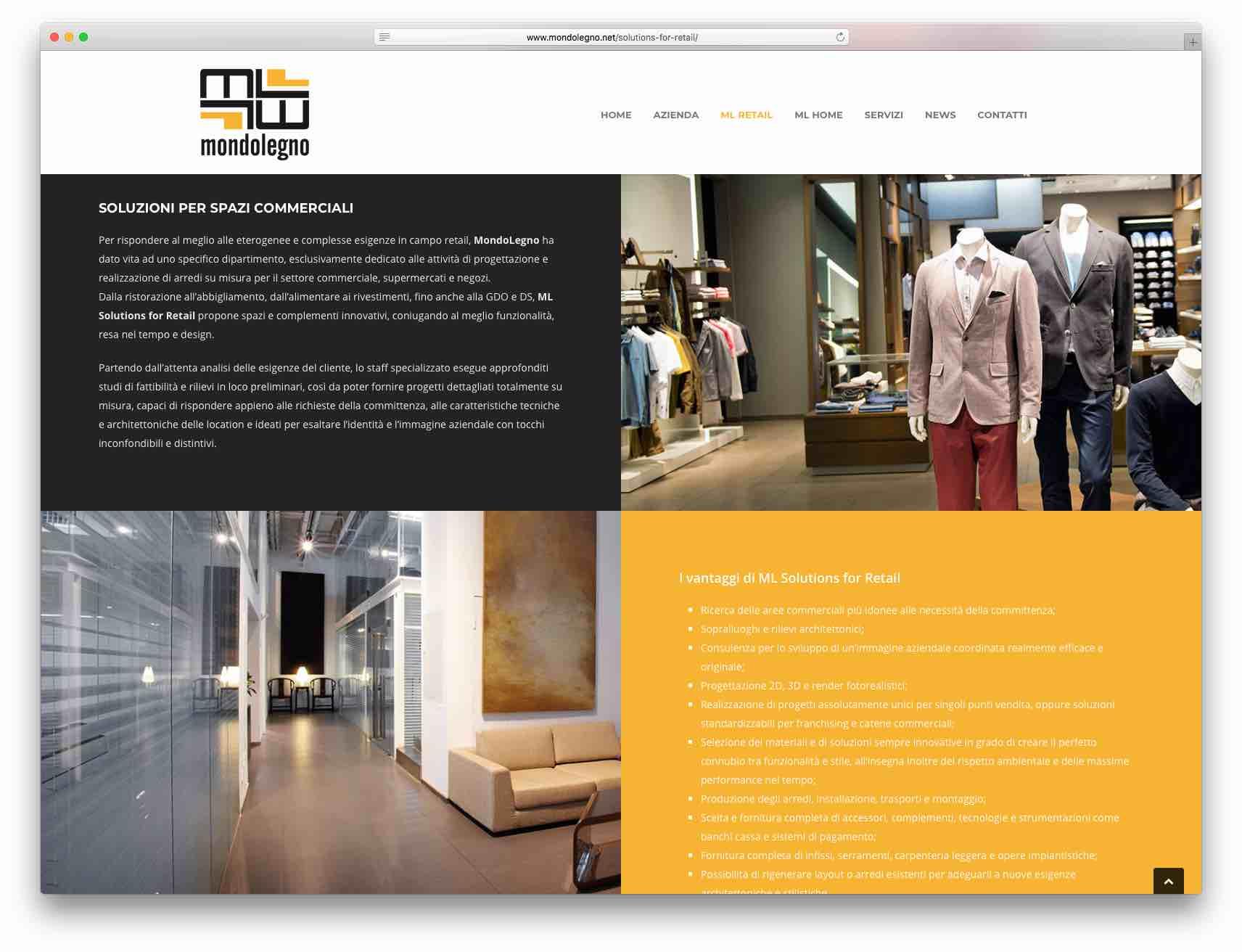 Creazione Siti Web Brescia - Sito Web Mondolegno