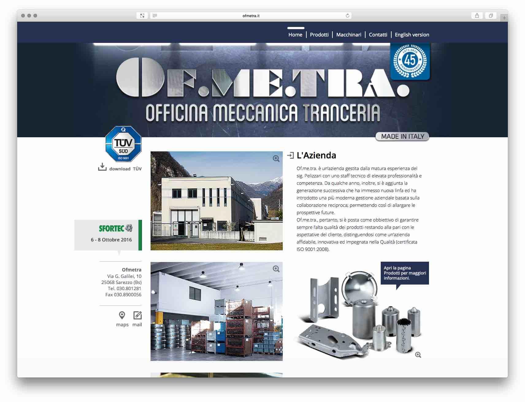 Creazione Siti Web Brescia - Sito Web Ofemtra