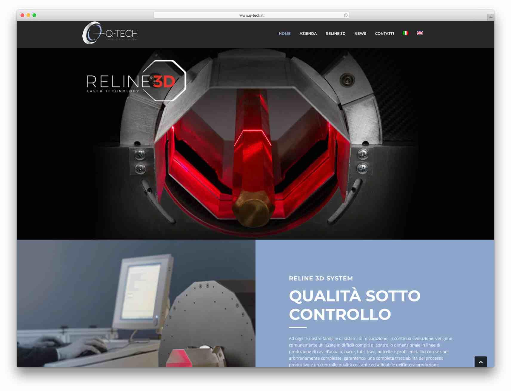 Creazione Siti Web Brescia - Sito Web Q-TECH