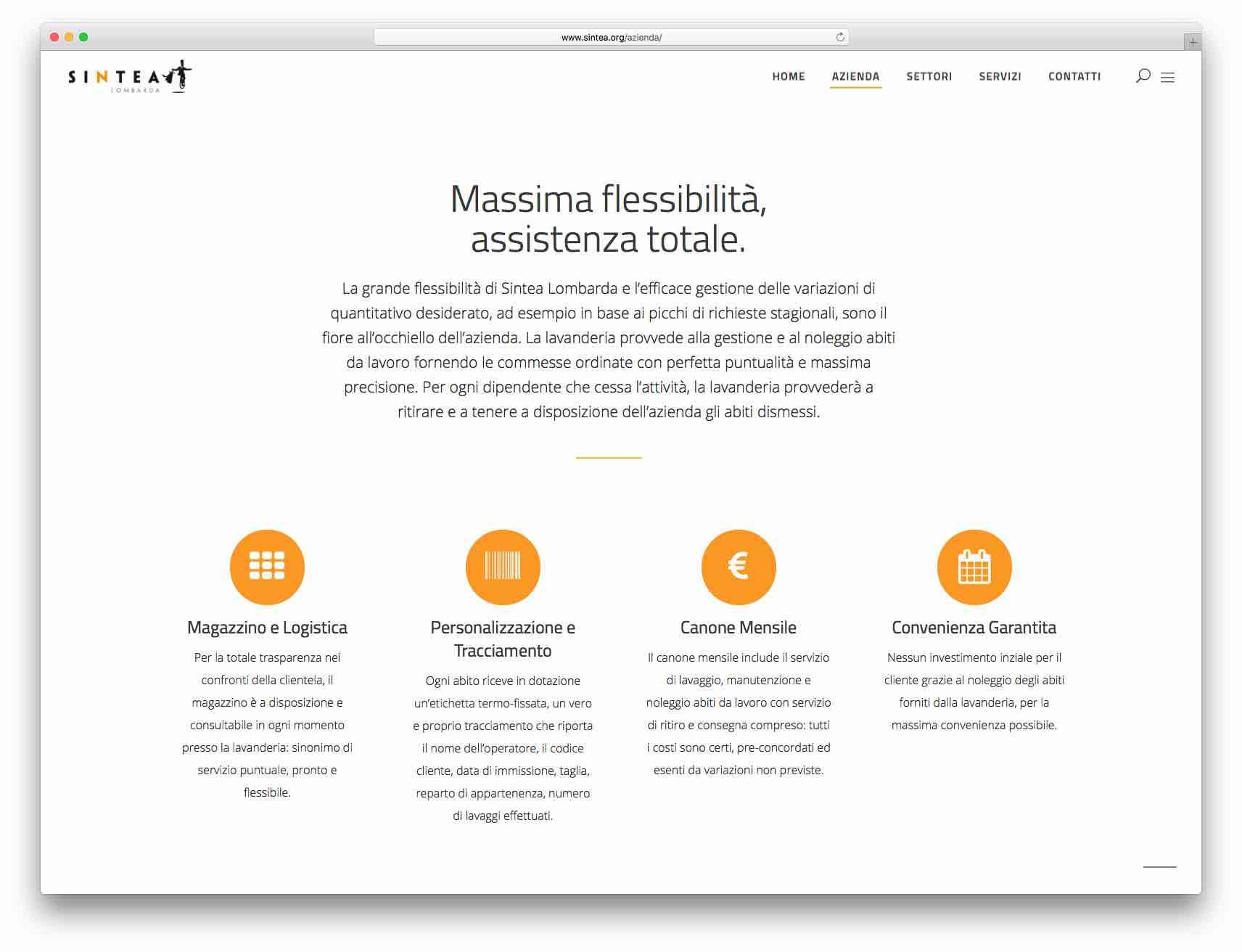 Creazione Siti Web Brescia: Sito Web Sintea