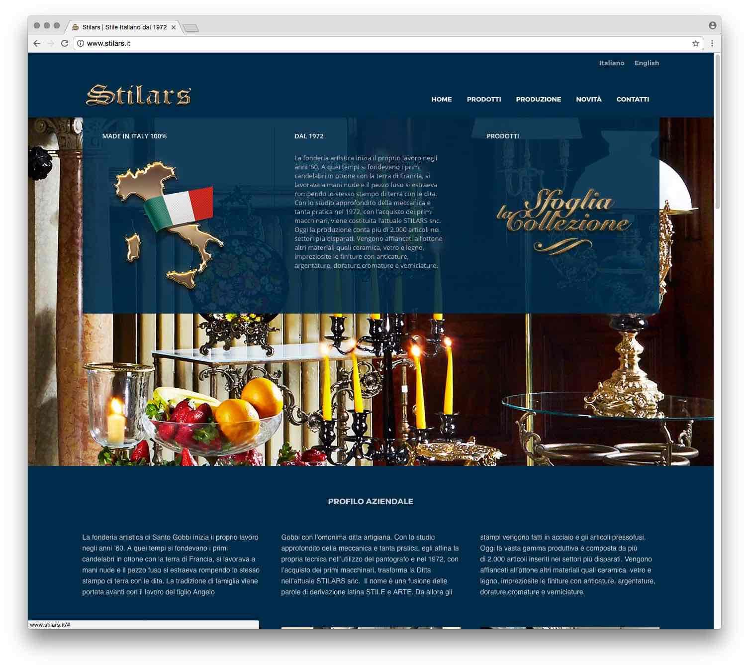 Creazione Siti Web Brescia - Sito Web Stilars
