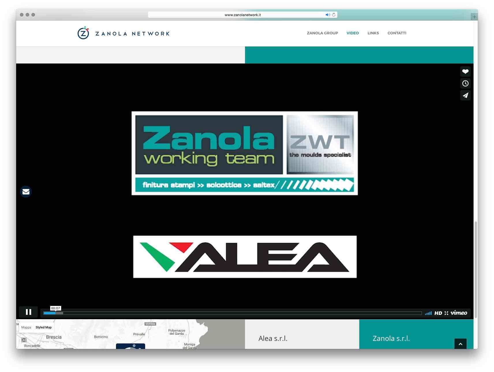 Creazione Siti Web Brescia - Sito Web Zanola Network