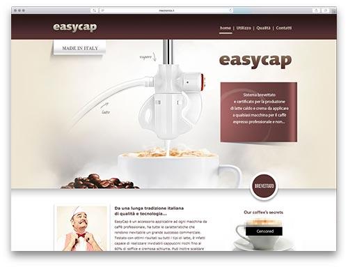 Realizzazione Siti Internet Brescia - Sito Web Easycap