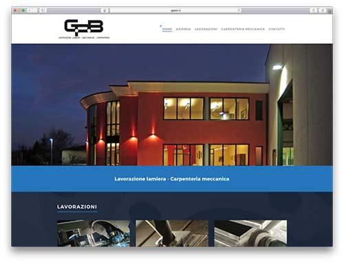 Realizzazione Siti Web Brescia - Sito Web GPB