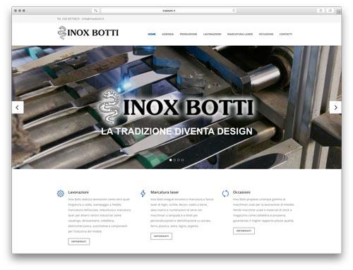 Realizzazione Siti Web Brescia - Sito Web Inox Botti