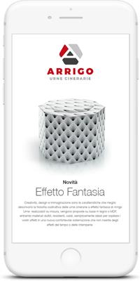 Arrigo Urne | Progettazione Newsletter | Agenzia P | Brescia