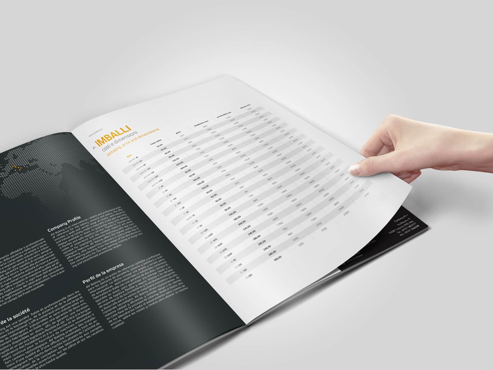 Av Backing | Agenzia P | Realizzazione Brochure | Brescia